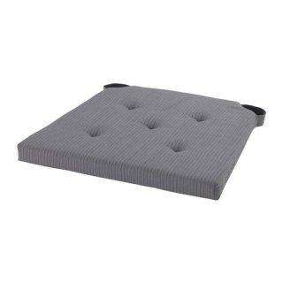 IKEA イケア JUSTINA チェアパッド グレー a10175004