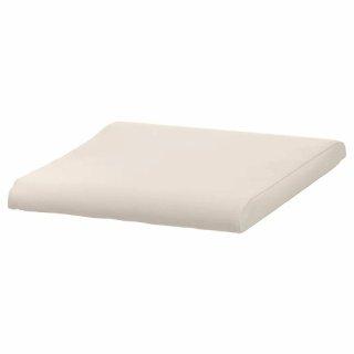 IKEA イケア POANG フットスツールクッション グローセ ロブスト エッグシェル c60170476 【クッションのみ】