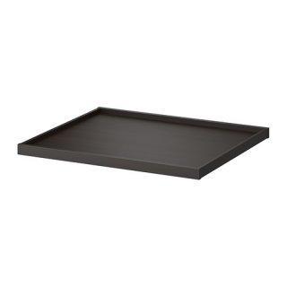 IKEA イケア KOMPLEMENT 引き出し式トレイ ブラックブラウン a30246369