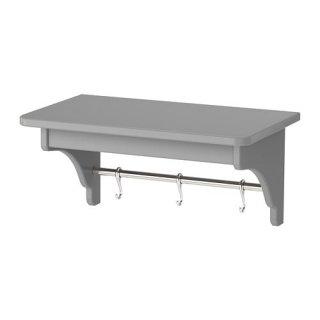 IKEA イケア TORNVIKEN ウォールシェルフ グレー n80402258