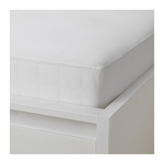 IKEA イケア ボックスシーツ カバー ホワイト シングル 90x200cm d50383218 HOSTVADD