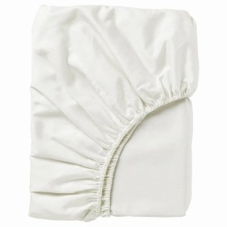 IKEA イケア ボックスシーツ カバー ホワイト シングル 90x200cm d40343713 NATTJASMIN