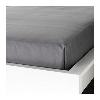 IKEA イケア シーツ グレー シングル 150x260cm d40342756 ULLVIDE