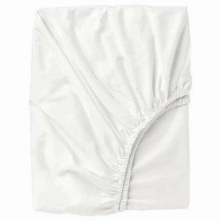 IKEA イケア ボックスシーツ カバー ホワイト ダブル 140x200cm d60342722 ULLVIDE