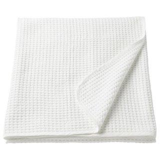 IKEA イケアベッドカバー ダブル ホワイト230x250cm VARELD z20384021