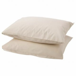 IKEA イケア 枕カバー ベージュ DVALA z20357188