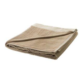 IKEA イケア タオルケット ベージュ 190x140cm z50278590 STRANDVALLMO