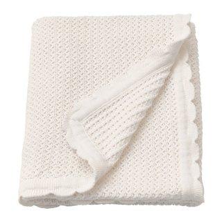 IKEA イケア ベビー用毛布 綿 ホワイト70x90cm GULSPARV n20427110