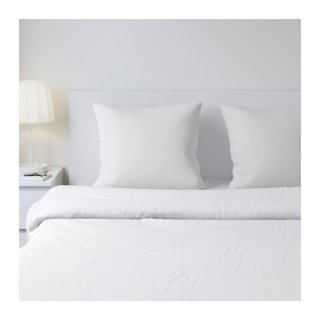 IKEA イケア 枕カバー / 2 ピース ホワイト DVALA 60181413