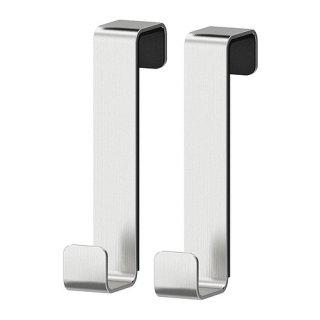 IKEA イケア LILLANGEN ハンガー 扉/ドア用 ステンレススチール / 2 ピース d90197672