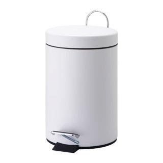 IKEA イケア VORGOD ペダル式ゴミ箱 3L ホワイト d20284979