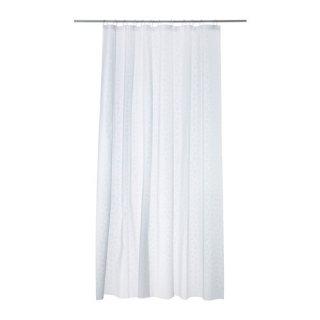 IKEA イケア INNAREN シャワーカーテン ホワイト 30295270