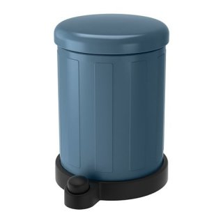 IKEA イケア TOFTAN ゴミ箱 4L ブルー z40349499