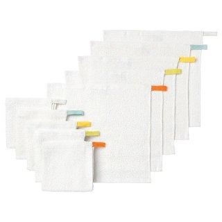 IKEA イケア タオルハンカチ ホワイト30x30 cm 10ピース n40169054 KRAMA
