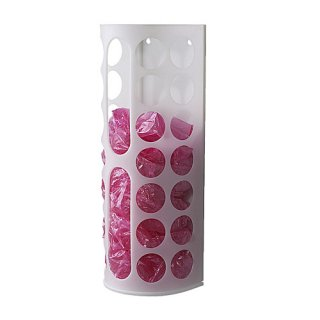 IKEA イケア プラスチック袋ディスペンサー ホワイト 10136512 VARIERA
