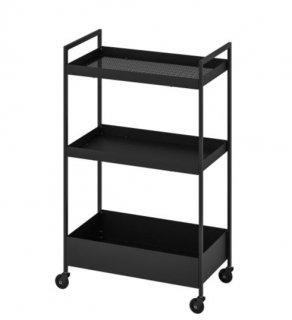 IKEA イケア NISSAFORS ワゴン ブラック n60407365