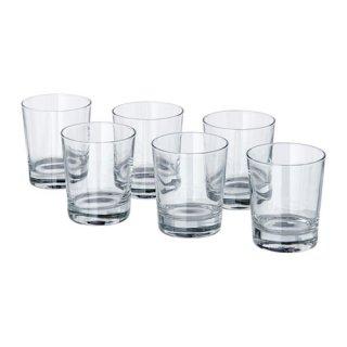 IKEA イケア GODIS グラス コップ 6ピース クリアガラス z40174588