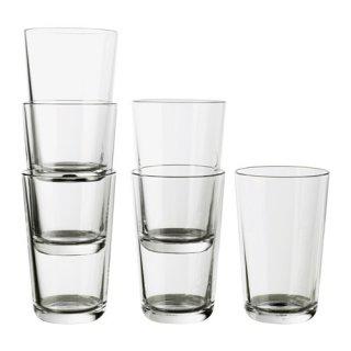IKEA イケア IKEA 365+ グラス クリアガラス / 6 ピース d40279712