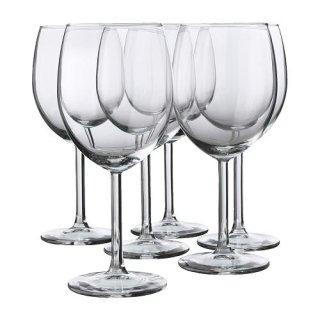 IKEA イケア SVALKA 赤ワイングラス / 6 ピース d40137812