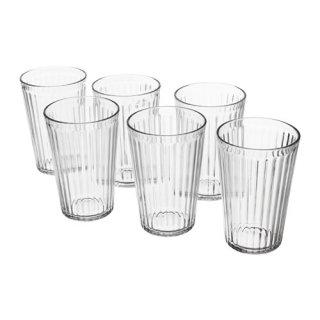 IKEA イケア VARDAGEN グラス クリアガラス / 6 ピース d50313107