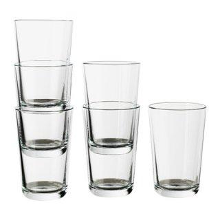IKEA イケア IKEA 365+ グラス クリアガラス / 6 ピース d30278360