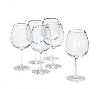 IKEA イケア STORSINT 赤ワイングラス クリアガラス 6個セット n00396299