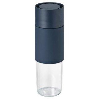IKEA イケア EFTERSTRAVA 携帯用マグ クリアガラス シリコン n20415310