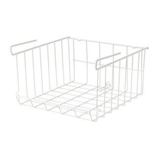 IKEA イケア OBSERVATOR クリップオンバスケット ホワイト d70311070