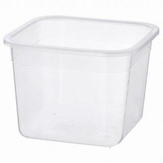 IKEA イケア 保存容器のみ 正方形 プラスチック 1.4L z70359180 IKEA 365+