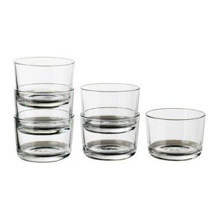 IKEA イケア IKEA 365+ グラス6ピース クリアガラス 90278357