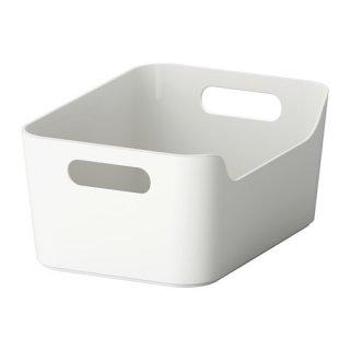 IKEA イケア VARIERA ボックス グレー 70335108