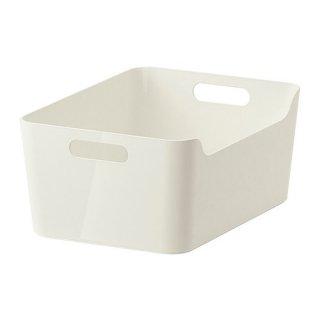 IKEA イケア VARIERA ボックス ホワイト 50177256
