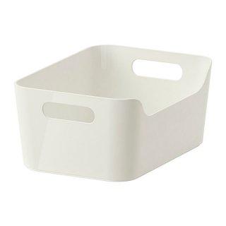 IKEA イケア VARIERA ボックス ホワイト 30177257