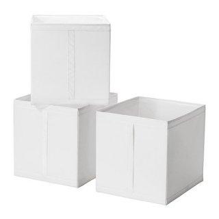 IKEA イケア SKUBB スクッブ ボックス ホワイト 10186390 幅31×奥行き34×高さ33 cm