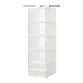 IKEA イケア SKUBB スクッブ 収納 6コンパートメント ホワイト 80245881 幅35×奥行き45×高さ125 cm