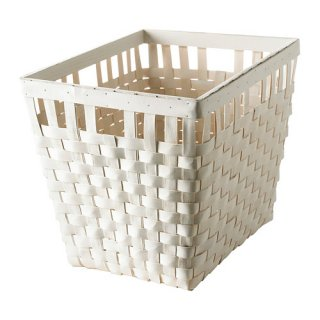 IKEA イケア KNARRA バスケット ホワイト d20243314