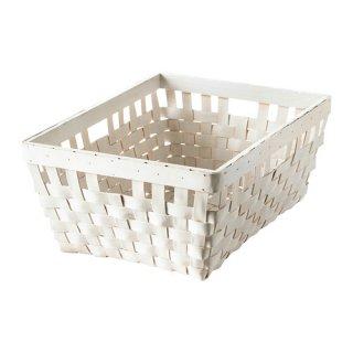 IKEA イケア KNARRA バスケット ホワイト d10243319