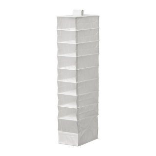 IKEA イケア SKUBB スクッブ収納 9段 ホワイト z70179886 幅22×奥行き34×高さ120 cm