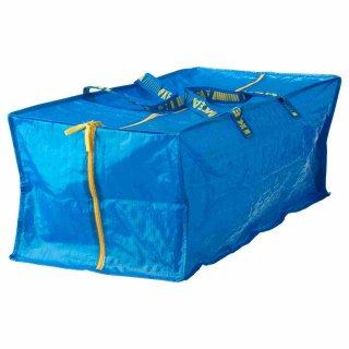 IKEA イケア FRAKTA トロリー用バッグ ブルー A90161989
