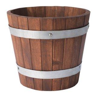 IKEA イケア OGENMELON オゲンメロン 植木鉢 アカシア材 z70416388