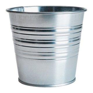 IKEA イケア SOCKER 鉢カバー 室内/屋外用 亜鉛メッキ a90169443