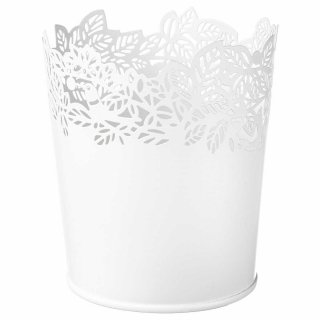 IKEA イケア SAMVERKA 鉢カバー 9cm ホワイト z70388738