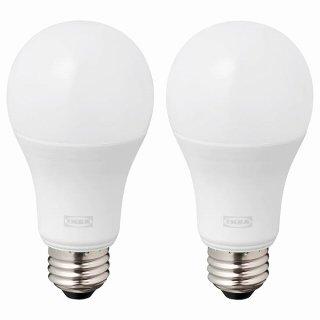 IKEA イケア LED電球 E26 1520ルーメン 球形 オパールホワイト n10447627 RYET