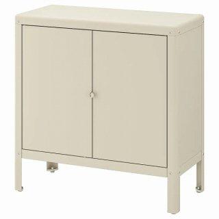 IKEA イケア キャビネット 室内 屋外用 ベージュ 80x81cm n60455907 KOLBJORN