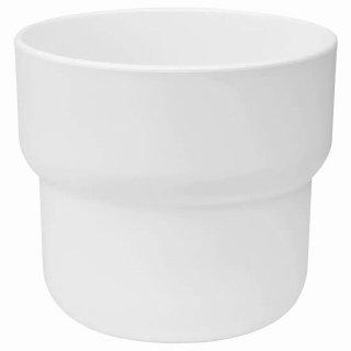 IKEA イケア 鉢カバー 室内 屋外用 ホワイト 9cm n60454818 FORENLIG