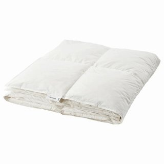 IKEA イケア 掛け布団 やや厚手 フェザー シングル 150x200cm n80459037 FJALLARNIKA