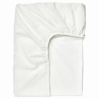 IKEA イケア ボックスシーツ ホワイト シングル 90x200cm n90459819 TAGGVALLMO