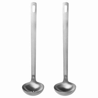 IKEA イケア キッチン用品2点セット ステンレススチール n10483007 FISKSOPPA