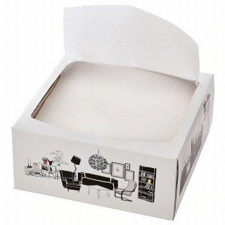 IKEA イケア 紙ナプキン ホワイト 16x32 cm 100 ピース n10366536 FAMILJ