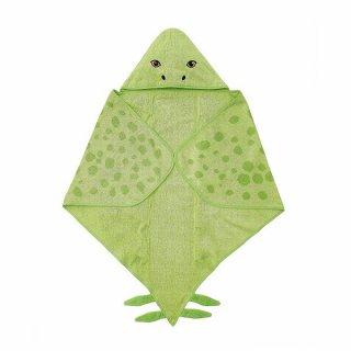 IKEA イケア フード付きバスタオル 恐竜/ステゴサウルス グリーン 140x97 cm n70479984 JATTELIK イェッテリク